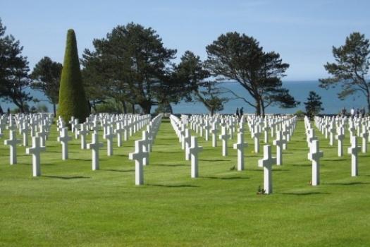 Omaha Beach & Cemetery Normandy France
