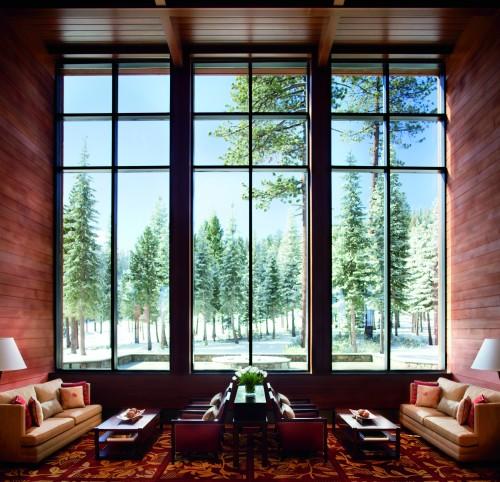 Living Room - Slopeside View