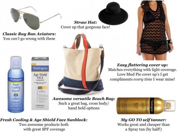 Beach Bag Essentials Budget Friendly