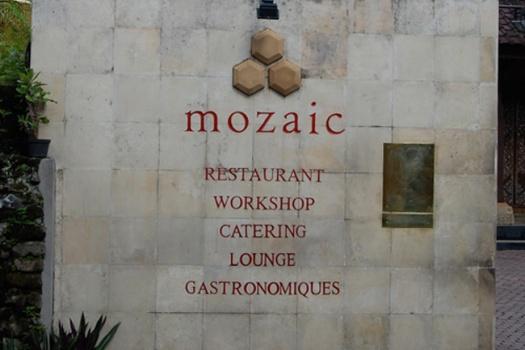 Bali Ubud Mozaic Restaurant Gastronomiquec