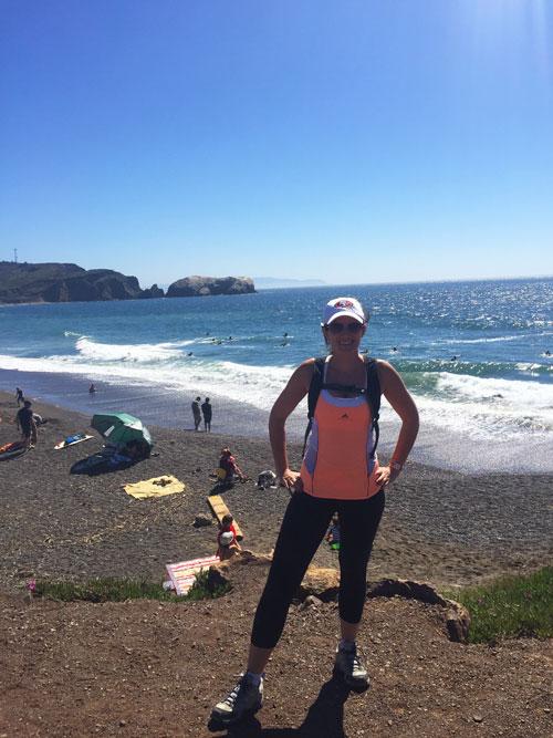 Hiking Marin At Rodeo Beach