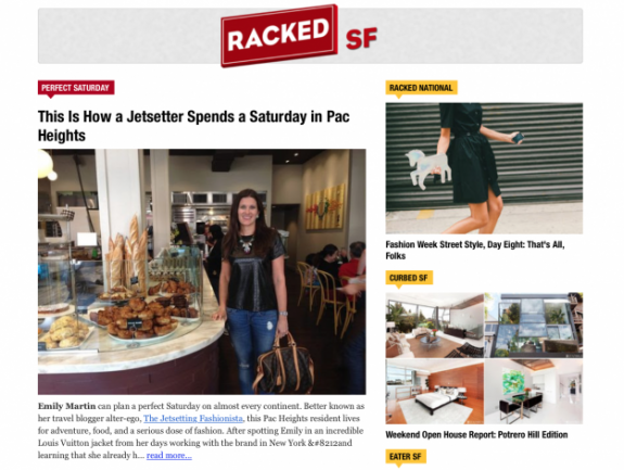 Racked SF Feature