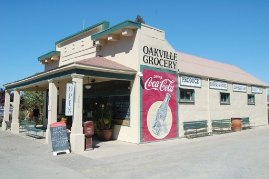 Napa California's Oakville Grocery A Must Try!