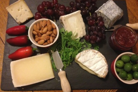 A Foodie Dinner Party & Spectacular Cheese Plate