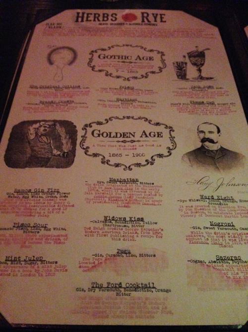Las Vegas Nightlife Herbs Amp Rye Best Cocktail Amp Steak In