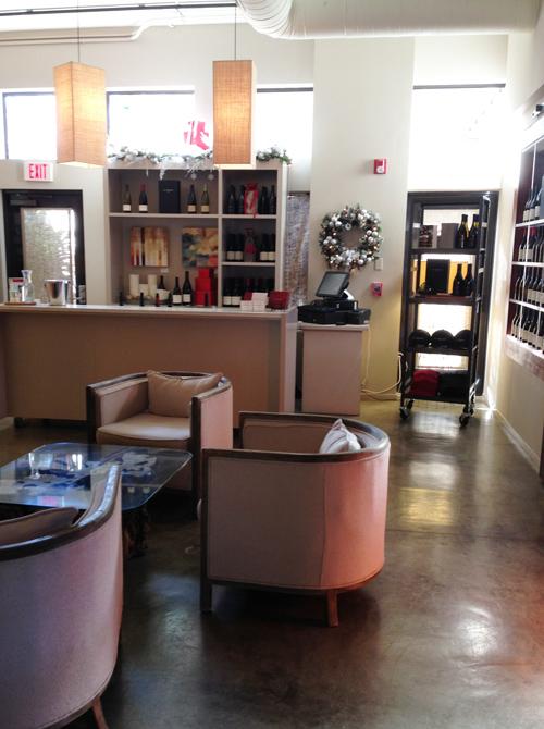 La Crema Healdsburg's Fabulous Tasting Room