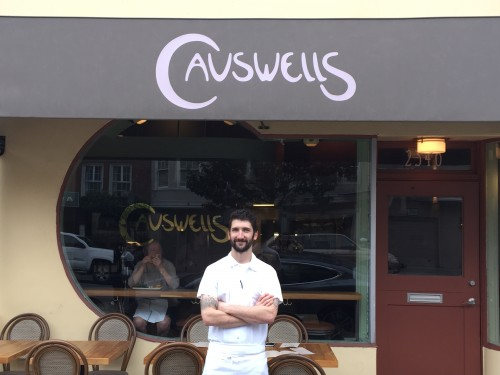 Chef Adam Rosenblum Causwells Restaurant
