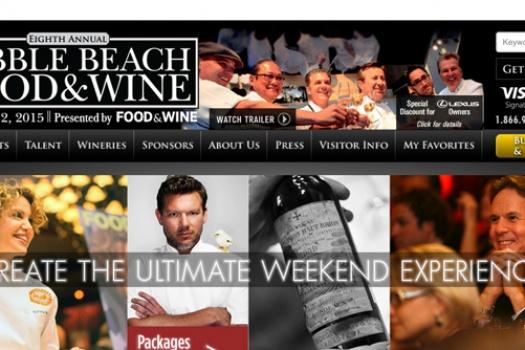 The Upcoming Fabulous Pebble Beach Food & Wine 2015
