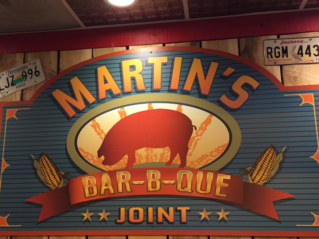 Martin's Bar-B-Que Joint