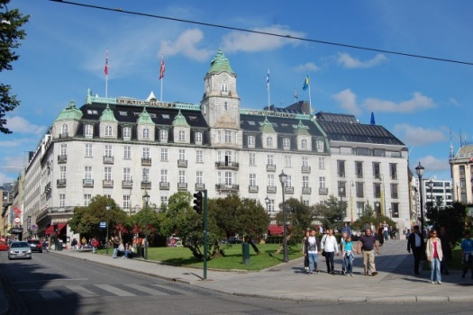 Grand Hotel Oslo Norway Where You'll Stay Amongst Royalty