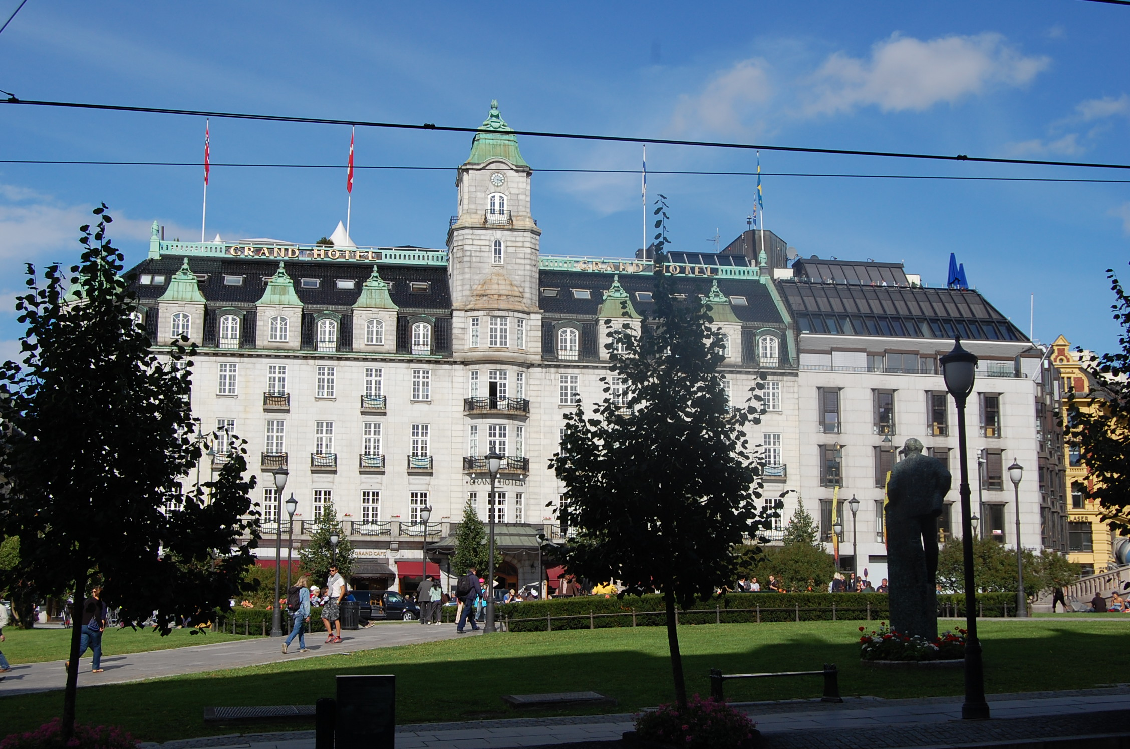 grand hotel oslo norway where you ll stay amongst royalty. Black Bedroom Furniture Sets. Home Design Ideas