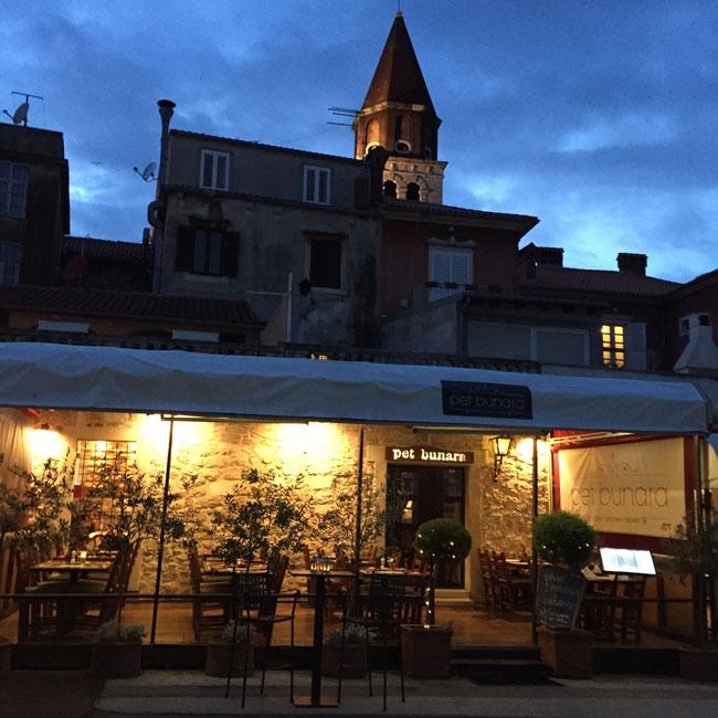 Pet Penera Restaurant Zadar Croatia