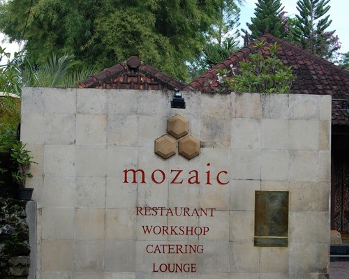 Bali: Ubud, Mozaic Restaurant Gastronomiquec Where To Eat