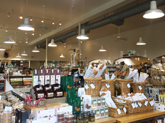 Napa Valley's Delicious Dean & Deluca Grocery