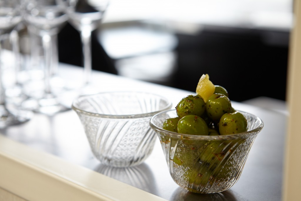 Olives with Verbena and Espelette credit Robin Stein