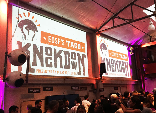 Eat Drink SF 2015 Taco Knockdown