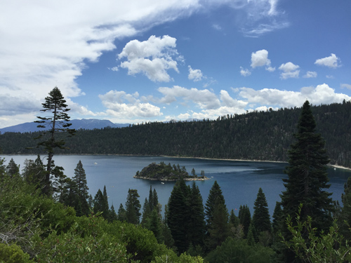 Emerald Bay State Park In Lake Tahoe California