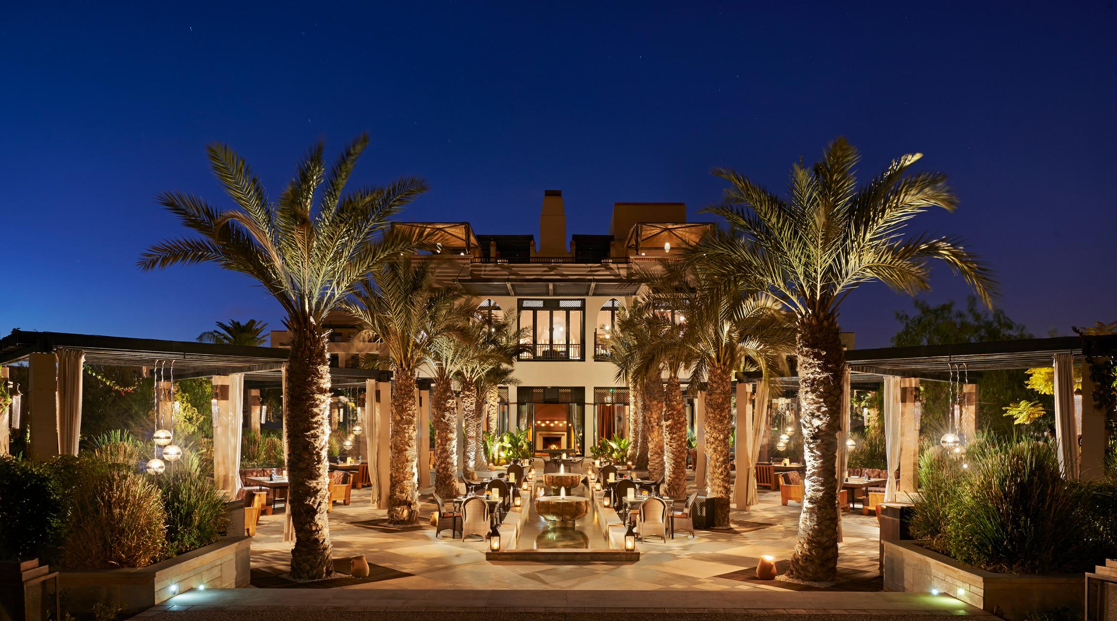 Four Seasons Resort Marrakech Zest At Bleu D Orange