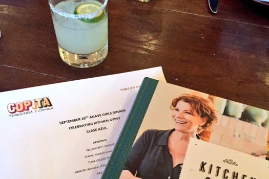 Copita's Agave Girls Dinner Celebrating Kitchen Gypsy The Newest Cookbook from Chef Joanne Weir