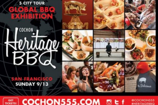 The Upcoming Cochon Heritage BBQ In San Francisco September 13th, 2015