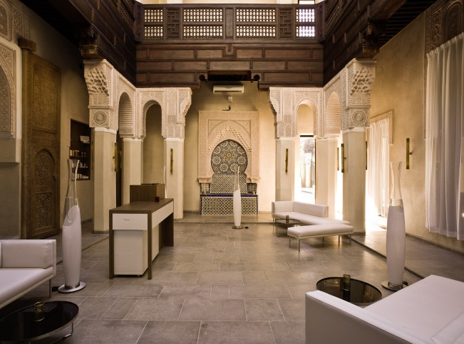 Riad fes spectacular spa within historic morrocan boutique for Luxury riad in marrakech