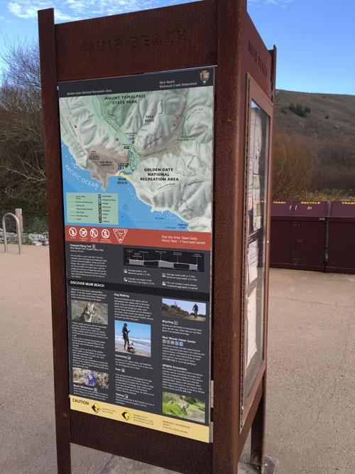 Marin's Muir Beach Fabulous Coastal Hiking Trail