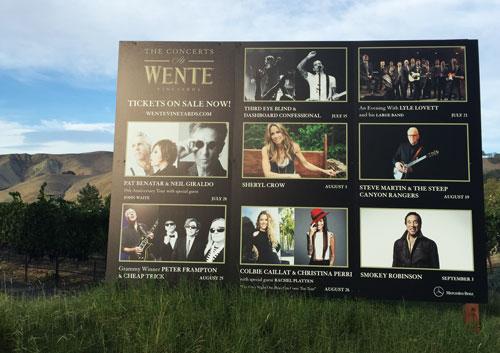 Wente Vineyard Concert Series