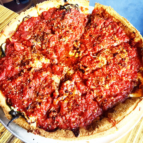 Little Star Pizza The Best Chicago Deep Dish Pizza in San Francisco