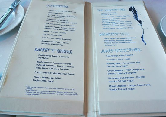 Celebrity Summit - Blu or MDR for breakfast/dinner ...