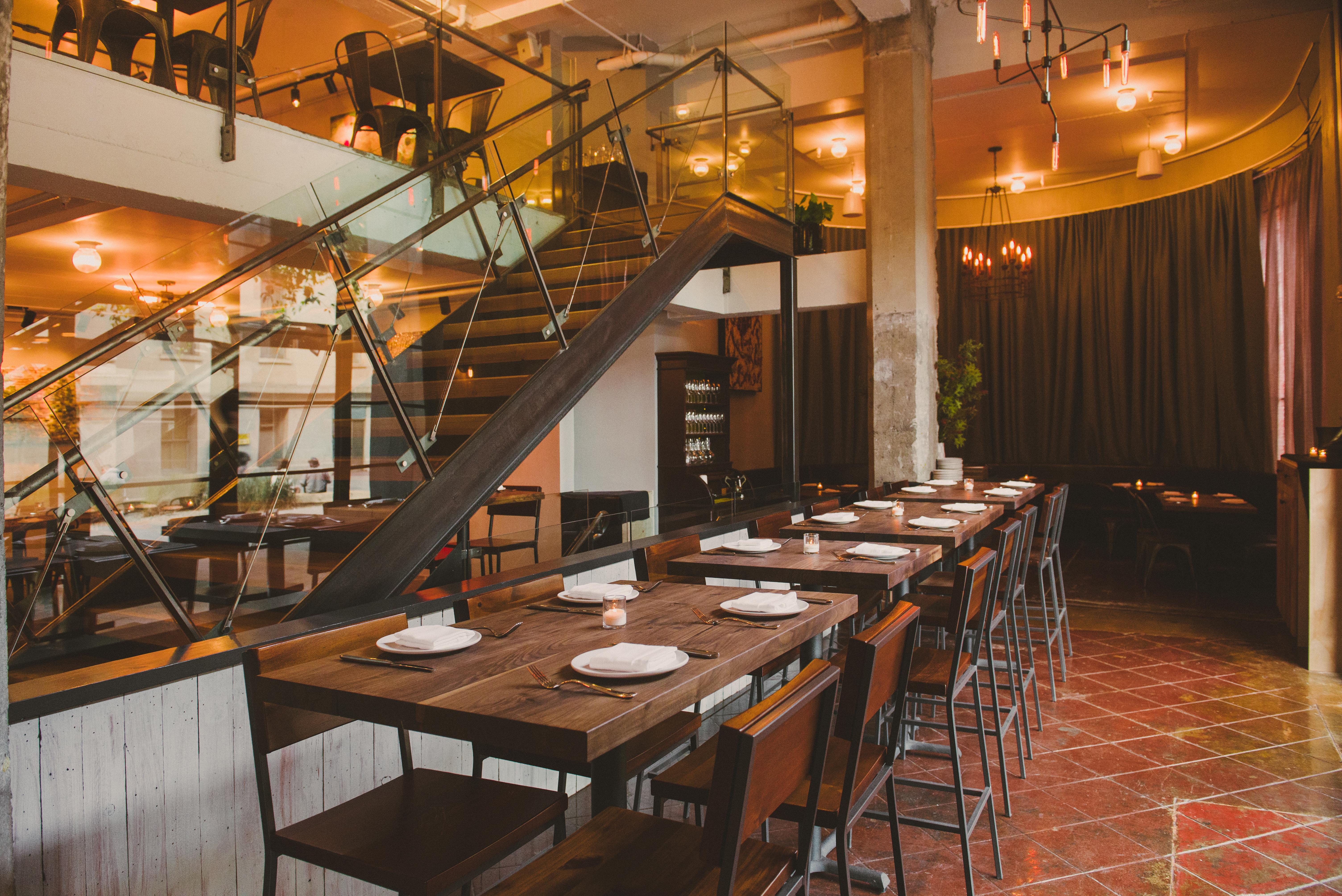 Oro, a restaurant by Jason Fox and Timothy Felkner, on Sept. 23, 2015 in San Francisco, Ca.  (Photo copyright Nader Khouri 2015)