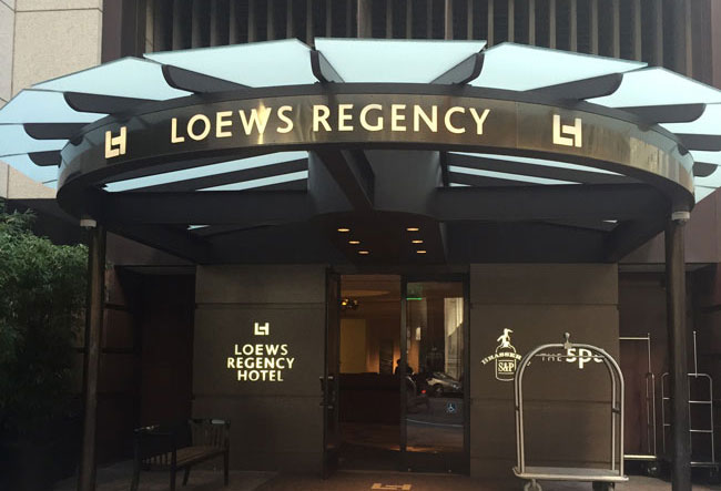 Loews Regency Hotel Spa