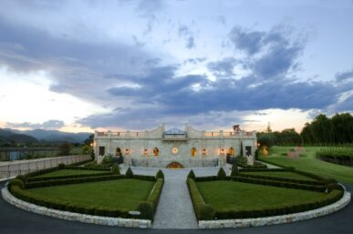 Del Dotto Vineyards With The Most Spectacular Food & Wine Pairing in Napa