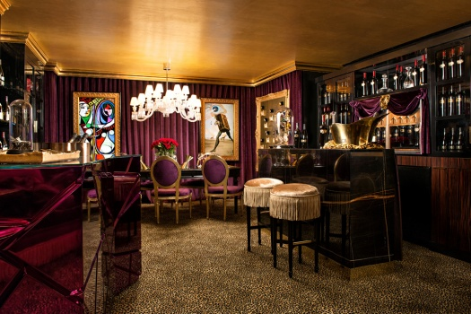 The JCB Tasting Lounge at The Ritz Carlton San Francisco