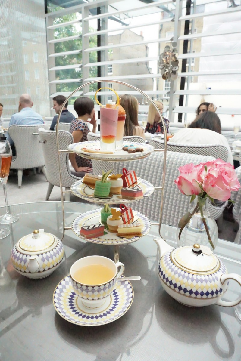 High Tea at The Berkeley Knightsbridge London