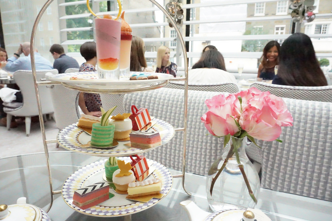 High Tea at The Berkeley Knightsbridge London