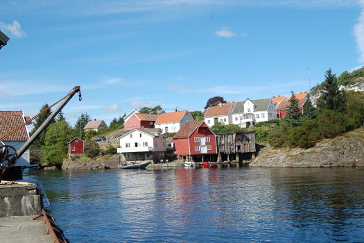 Sogndalstrand One of the most Picturesque Towns in Norway