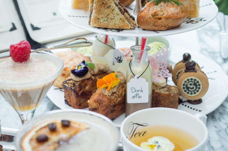 Sanderson Hotel Mad Hatters Tea