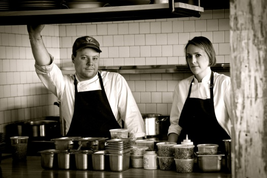 INTERVIEW WITH CHEF SARAH & EVAN RICH OF RICH TABLE SAN FRANCISCO