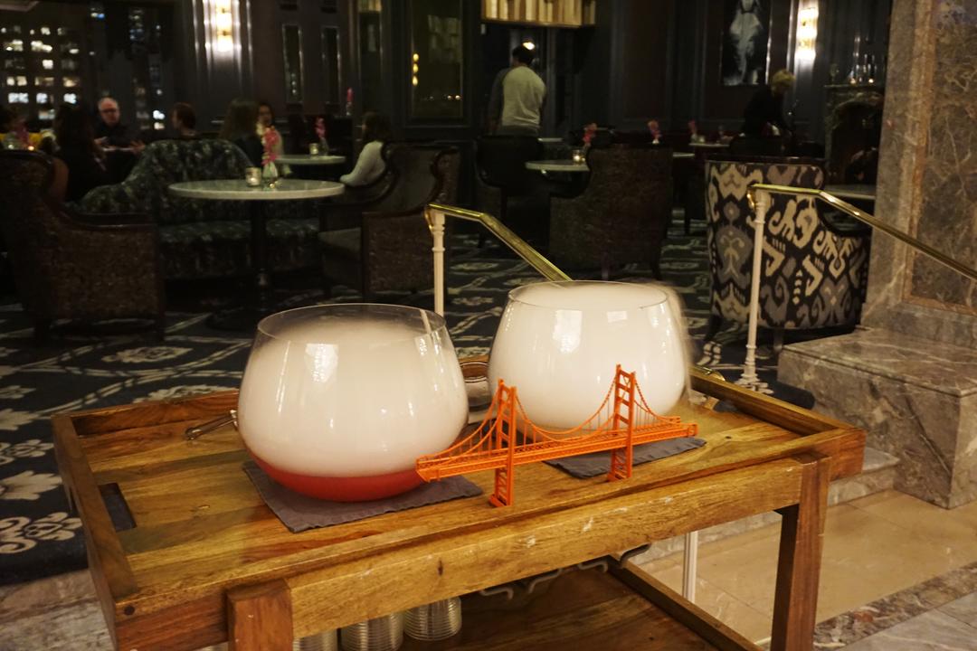 The Ritz Carlton Fog Cocktail