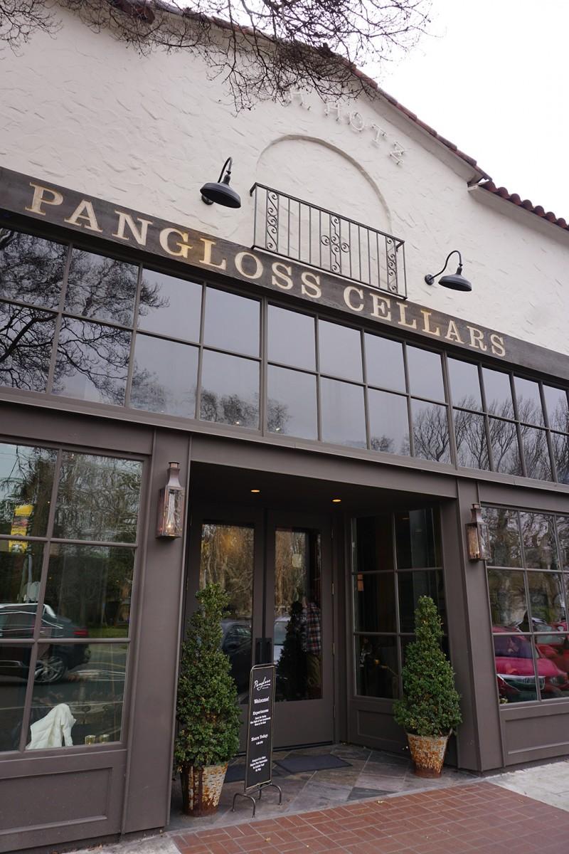 Pangloss Cellars Sonoma