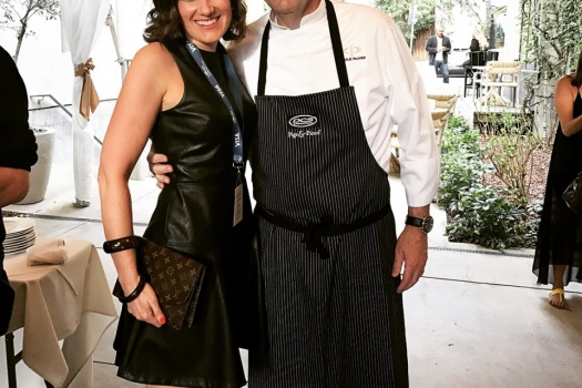 Chef Charlie Palmer's Pigs & Pinot Event in Healdsburg California